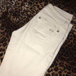 Rewind white jeans